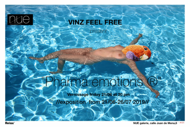 Vinz Feel Free. Pharma emotions ®