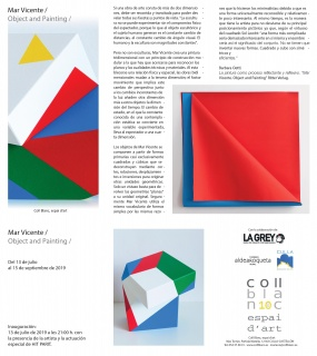 Mar Vicente / Object and Painting