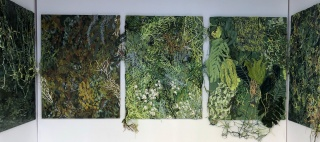 Gabrielle Kruger: Overgrowth — Cortesía de la galería Marta Moriarty