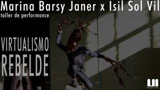 taller de performance con Isil Sol Vil x Marina Barsy Janer en Materic.org