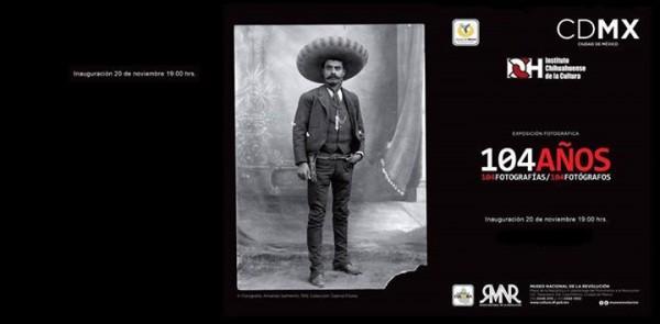 104 años, 104 fotografías, 104 fotógrafos