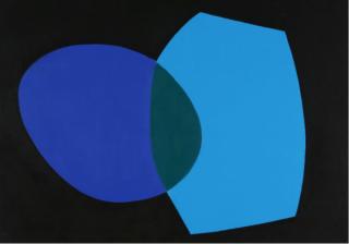Salvador Corratgé, Untitled, 1968, acrylic on canvas, 23 x 28 in.