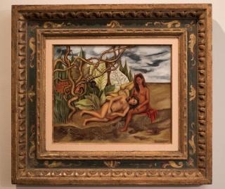 Frida Kahlo, Dos desnudos en la jungla