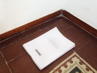 """I Convocatoria \""""Puerta Abierta\"""" para Comisarios en El Cuarto de Invitados"""