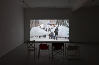 Friendship of Peoples Fountain 2014, Video, 41:55 min, Installation view