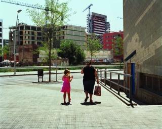 Patrick Faigenbaum y Joan Roca. Avenida Diagonal en construcción, 2005 – Cortesía de La Virreina Centre de la Imatge