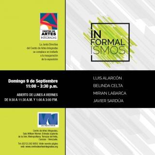 Informalismos. Imagen cortesía Centro Artes Integradas