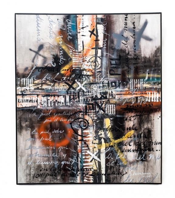 """Javier Sardúa.  """"La piel del mundo"""", 2005. Foto ©Lalo Hernández. Cortesía Centro de Artes Integradas"""