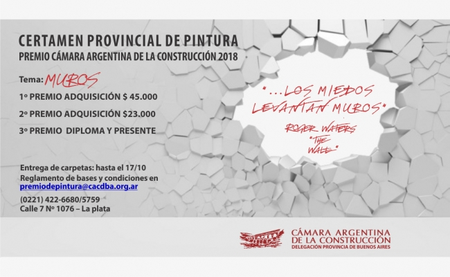 Premio provincial de Pintura Cámara Argentina de la Construcción