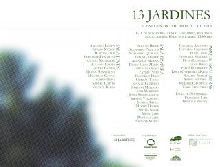 Encuentro de arte y cultura 13 Jardines. Imagen cortesía Francisco Yavar