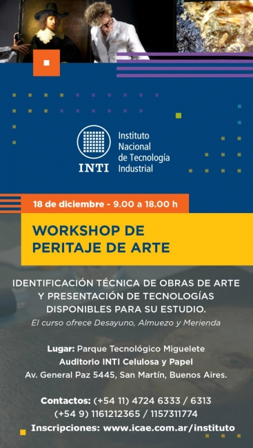 Workshop Peritaje de Arte