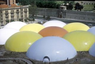 José Miguel de Prada Poole. Maqueta del proyecto de la Pista de Patinaje sobre Hielo de Sevilla, 1973. Cortesía del artista // Cortesía del MUSAC