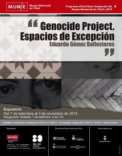 Genocide Project. Espacios se Excepción