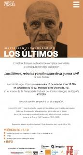 Los Últimos, retratos y testimonios de la guerra civil de Luis Areñas