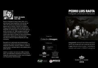Pedro Luis Raota. Fotógrafo universal e intemporal