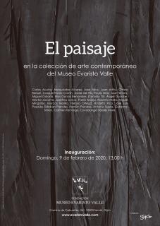 El paisaje en la colección de arte contemporáneo del Museo Evaristo Valle