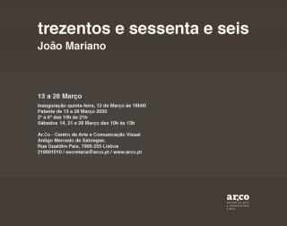 João Mariano. trezentos e sessenta e seis