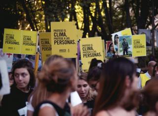 Pon derechos al clima — Cortesía de Amnistía Internacional - Madrid