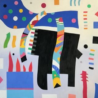 Obra de la exposición «Desde la abstracción» — Cortesía de Alba Cabrera - art contemporani
