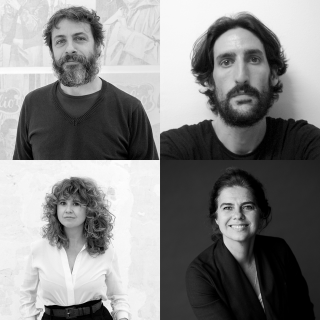 Gonzalo Elvira, Quico Peinado, Ana Ramírez, Mónica Ramon