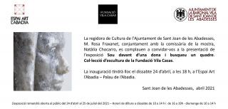 Sou davant d'una dona i busqueu un quadre. Col·lecció d'escultura de la Fundació Vila Casas - Invitación