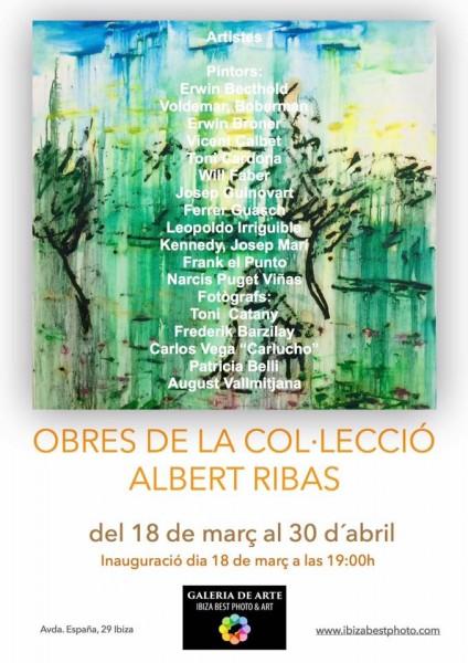 Obres de la collecció de Albert Ribas