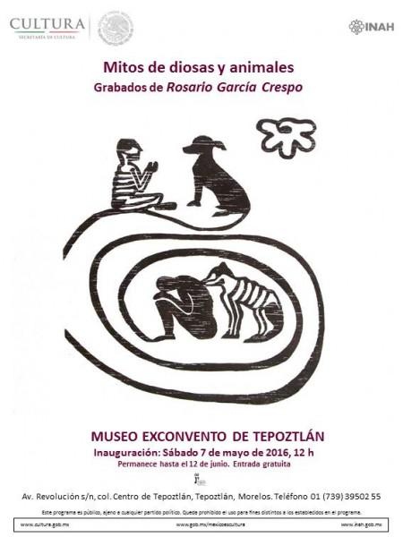 Rosario García Crespo, Mitos de diosas y animales