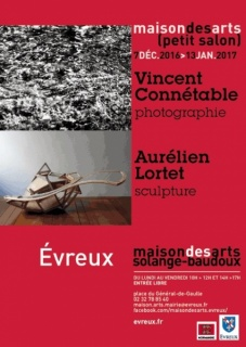 Vincent Connetable / Photographie - Aurélien Lortet / Sculpture