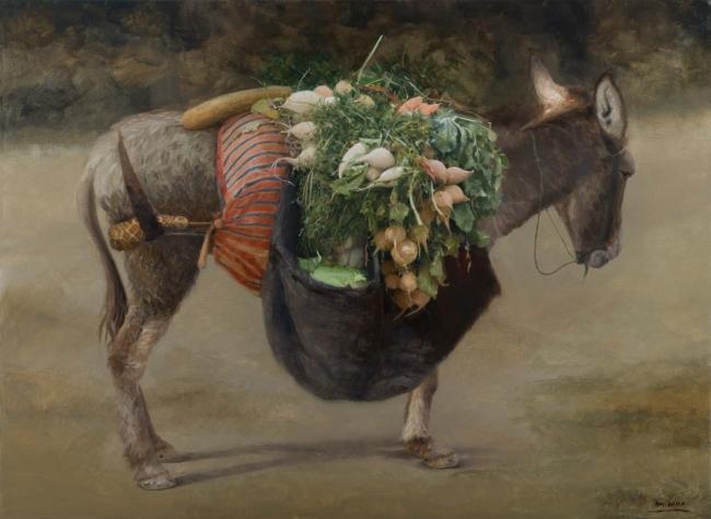 Manuel Cano, Mercadillo ambulante – Cortesía de la Galería Benot