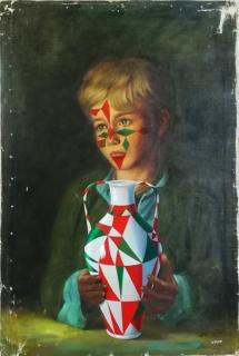 Nono Bandera - El amigo invisible. 2018 — Cortesía de la Galería Espacio Mínimo