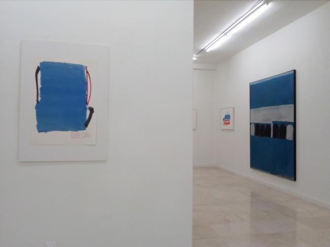 Vista de la exposición — Cortesía de la galería de arte Antonio Machón