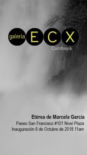 Etérea. Imagen cortesía Marcela Garcia
