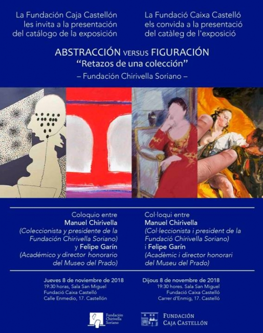 """Charla Abstracción versus figuración: """"Retazos de una colección"""""""