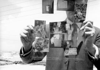 William S. Burroughs, Self-portrait III (Tangier), 1964 — Cortesía de ADN Galeria
