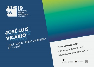 José Luis Vicario. LIBAR: sobre libros de artista