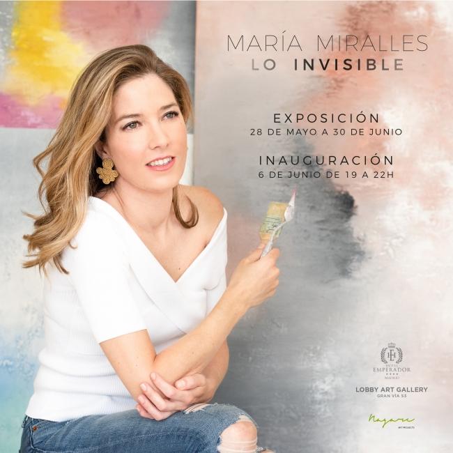 Lo invisible, María Miralles