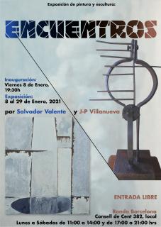 """Exposición de: Pintura y Escultura """"ENCUENTROS"""""""