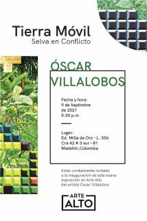 Invitación exposición Tierra Móvil
