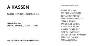 A Kassen. Naked Photographer