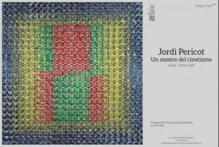 Jordi Pericot. Un mestre del cinetisme