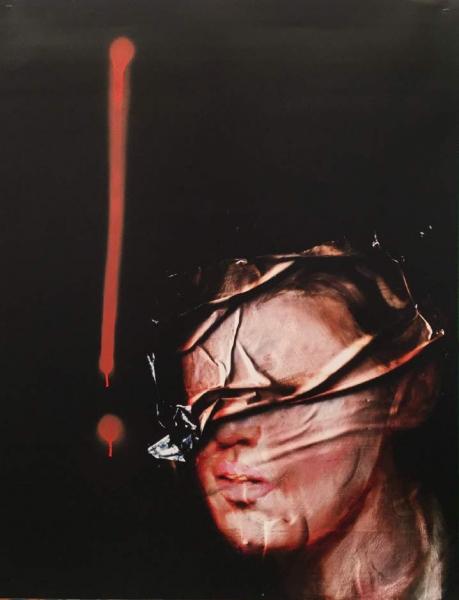 Rita GT: Candonga Nº.18, 2015, impressão digital com spray, 101.6 x 76.2 cm, Ed. 1/5