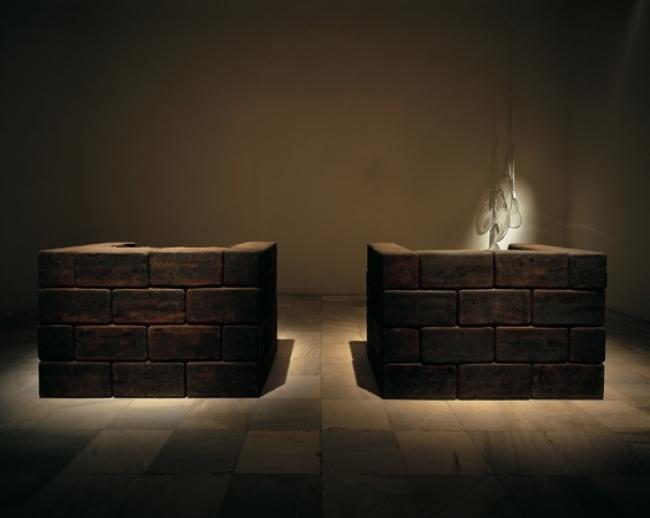 Jaume Plensa, Prière (1989) — Cortesía del Museu d'Art Contemporani de Barcelona (MACBA)
