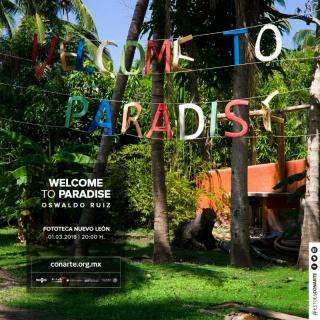 WELCOME TO PARADISE. Imagen cortesía Patricia Conde Galería