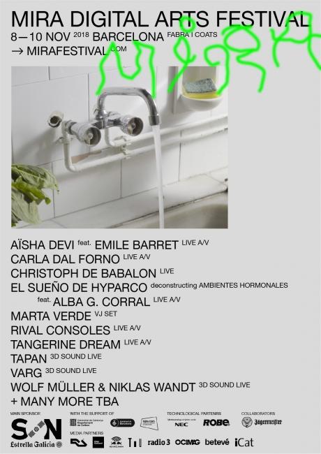 MIRA. Digital Arts Festival - 2018