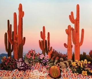 Cactus naranjas