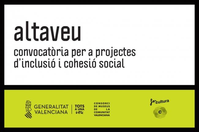 Altaveu. Convocatòria per a projectes d'inclusió i cohesió social