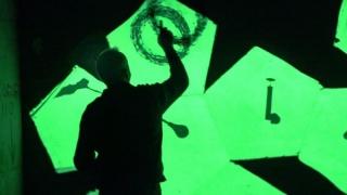 Foto: Performance Francisco Javier Flores — Cortesía de 13 ESPACIOarte