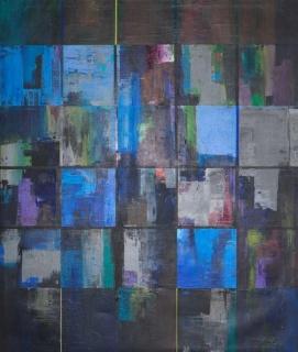Victor Costa, P87)2 Sem Título, 2019. Acrilico x Tela — Cortesía de Galeria São Mamede