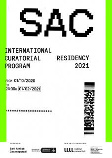 SAC Programa de Residencia Curatorial Internacional 2021