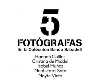 5 fotógrafas en la Colección Banco Sabadell